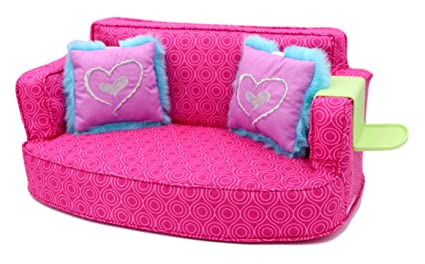 Amazon.com: American Girl - Comfy Couch for Dolls - Truly Me 2015 ...