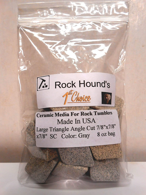 Rock Hounds 1st Choice Rock Tumbler SC Polishing Ceramic Media Big 1//2 Lb Bag Rockhound/'s 1st Choice
