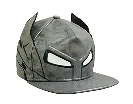 Amazon.com  DC Comics Batman vs. Superman Batman Armor Helmet Fitted ... ca19e7adcde