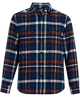 2b918ad11 Amazon.com: Woolrich Men's Trout Run Flannel Shirt: Clothing