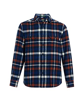 dda50d952 Woolrich Men's Oxbow Bend Flannel Shirt at Amazon Men's Clothing store:
