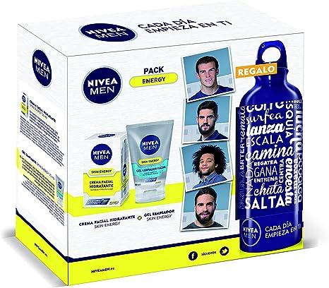 Pack regalo Nivea Men (crema de día + limpiador): Amazon.es: Belleza