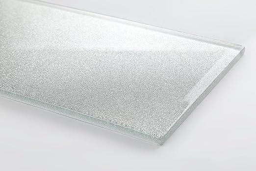 Qm vetro mosaico piastrelle in mattoni pietra dimensioni argento