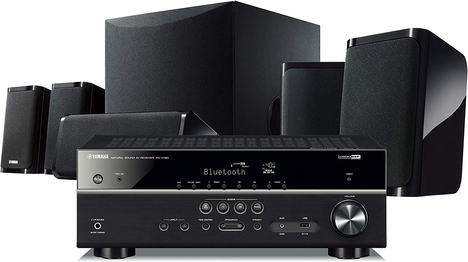 Yamaha YHT-100U 100K Ultra HD 100.10-Channel Home Theater System with Bluetooth