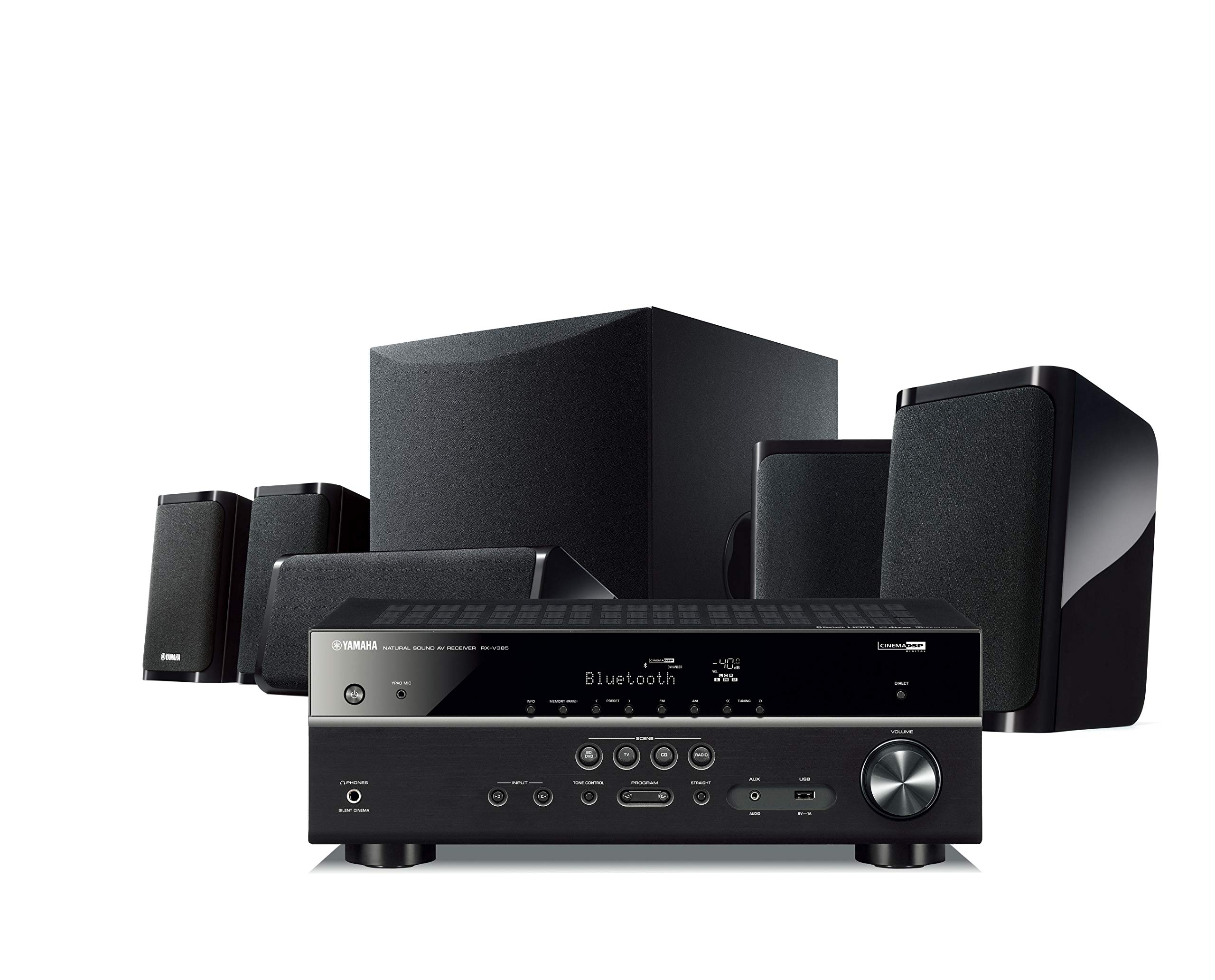 Yamaha Yht-4950U 4K Ultra HD 5.1-Channel Home Theater System with Bluetooth by Yamaha Audio