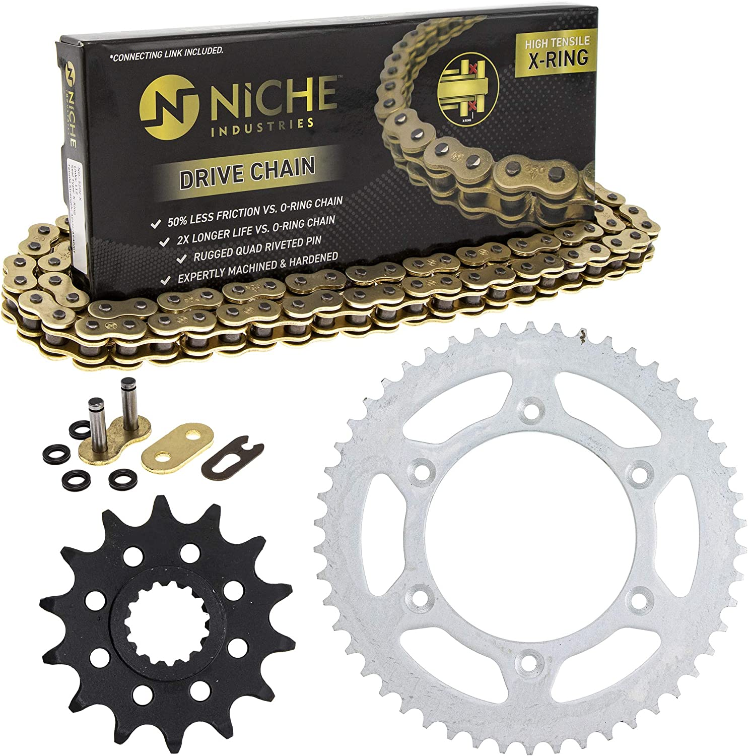 2012-2018 KTM 65 SX Chain and Sprocket Kit Heavy Duty Non Oring