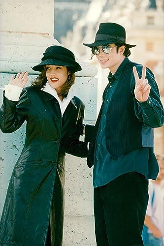 Amazon com: Vintage photo of Michael Jackson and Lisa Marie Presley