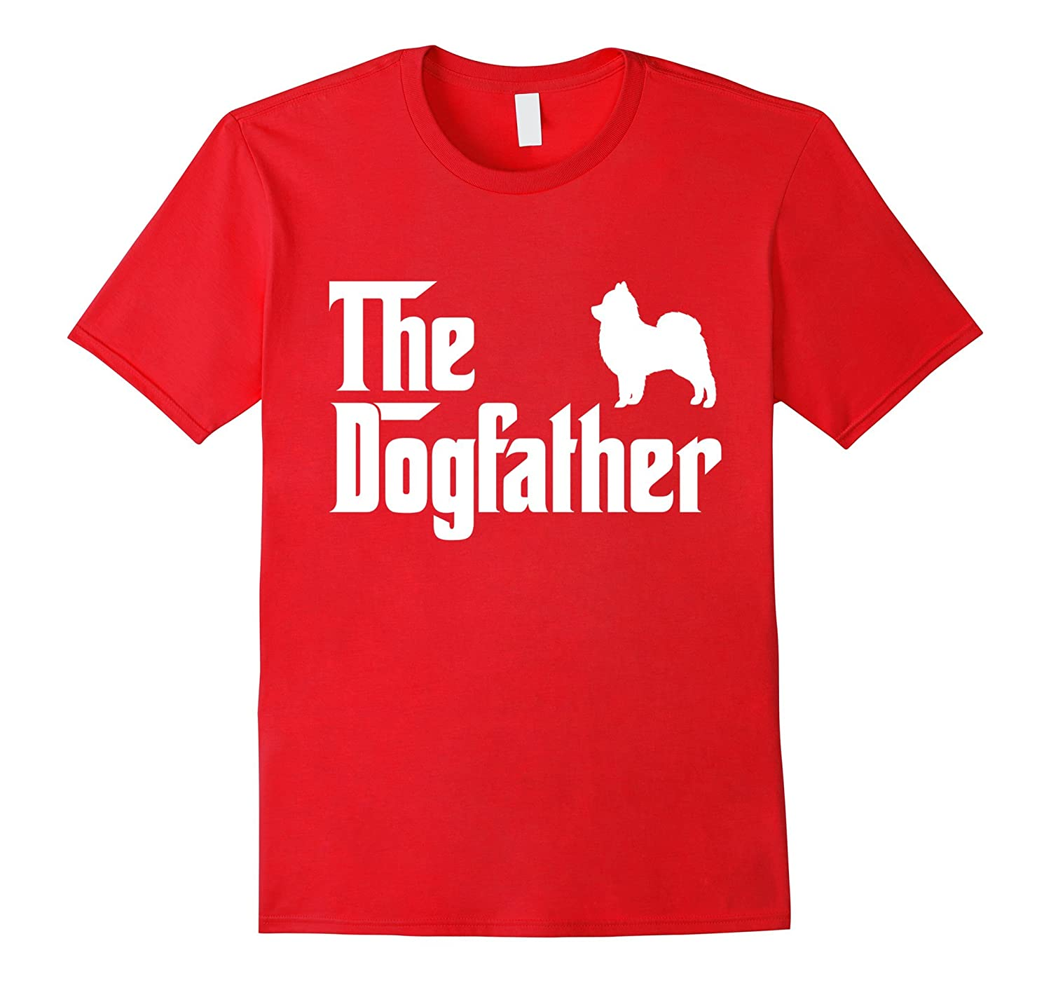 The Dogfather Pomeranian T-Shirt Funny Father Dog Lover Gift-TH