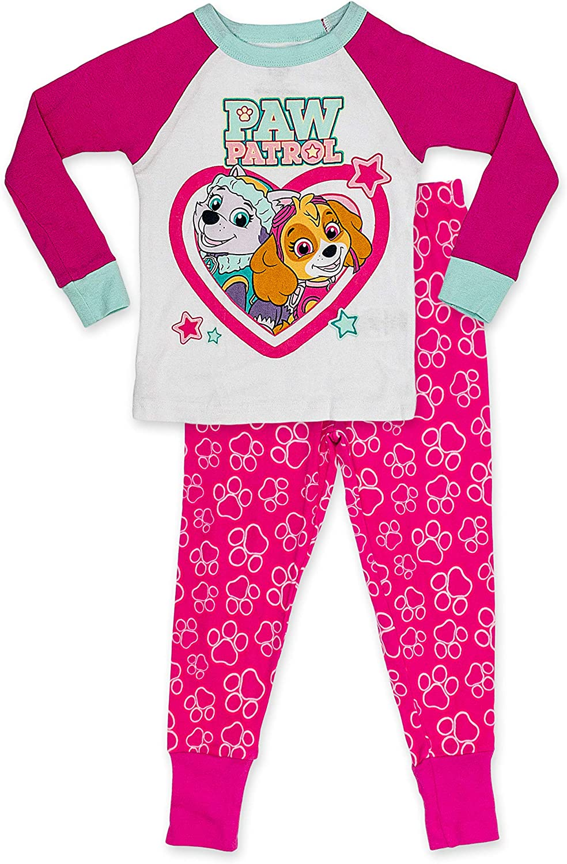 Paw Patrol Toddler Boy Long Sleeve Shirt /& Pants Christmas Pajamas New 3T