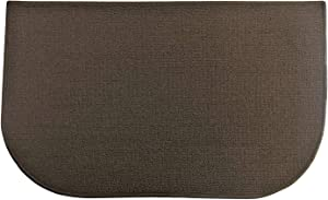 "Fashion Non-Skid Home, Kitchen, Floor Mat, Comfortable Standing mat, Entrance Rug, 17"" x 28"" (Brown)"