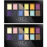 Maybelline New York Expert Wear Eyeshadow Palette, The Brights