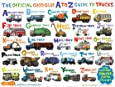 The Official Good Glue A to Z Guide to Trucks Poster