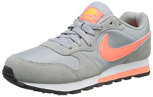 new concept 6a743 c4737 Nike Wmns MD Runner 2, Zapatillas para Mujer, Gris (WLF Gry Brght MNG Vrsty  MZ Whi), 38 1 2 EU  Amazon.es  Zapatos y complementos