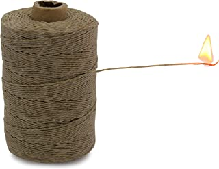 product image for 100% Hemp Twine Spool 1MM Waxed, 300G/700 Ft. - 20 lb. Test Strength - Natural