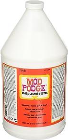 Mod Podge Waterbase Sealer, Glue and Finish (1-Gallon), CS11204 Gloss Finish