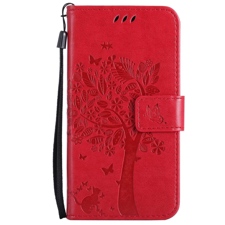 Guran® Funda de Cuero Para Xiaomi Mi5 Smartphone Función de ...