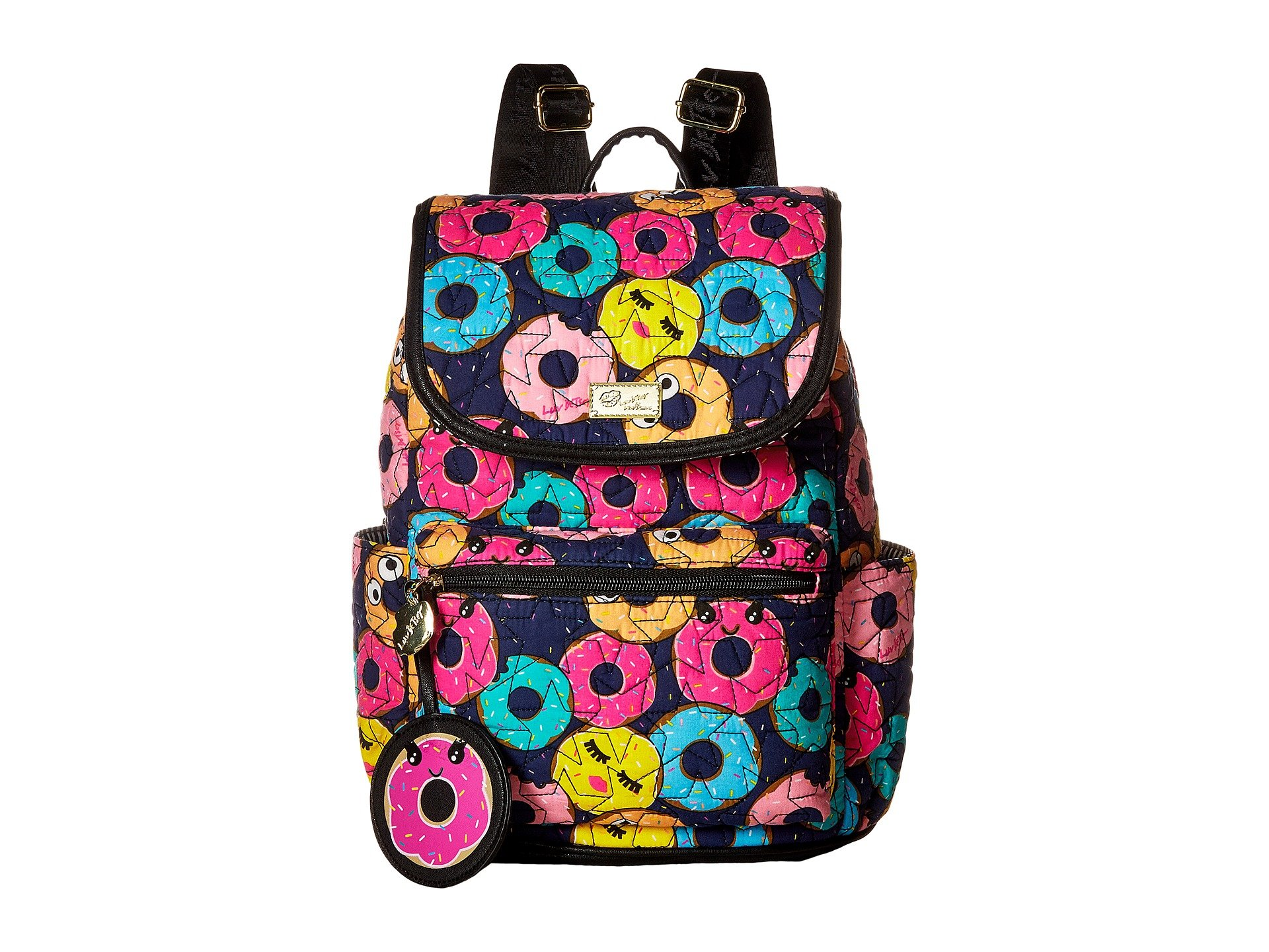 Luv Betsey Women's Grad Cotton Quilted Backpack Multi Backpack