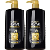 L'Oreal Paris Elvive Total Repair 5 Repairing Shampoo and Conditioner for Damaged Hair, Shampoo and Conditoner Set with Protein and Ceramide, 1 kit