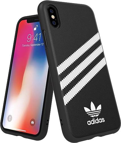 Adidas Or Coque moulée en PU pour iPhone XX, Noir