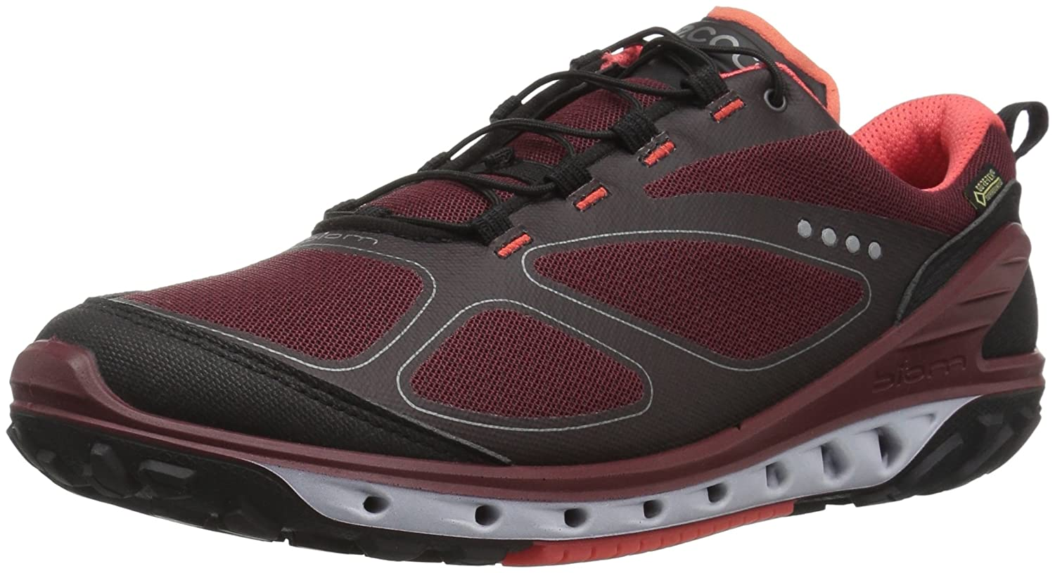 Black Port Coral bluesh ECCO Women's Biom Venture Gore-Tex hiking shoes