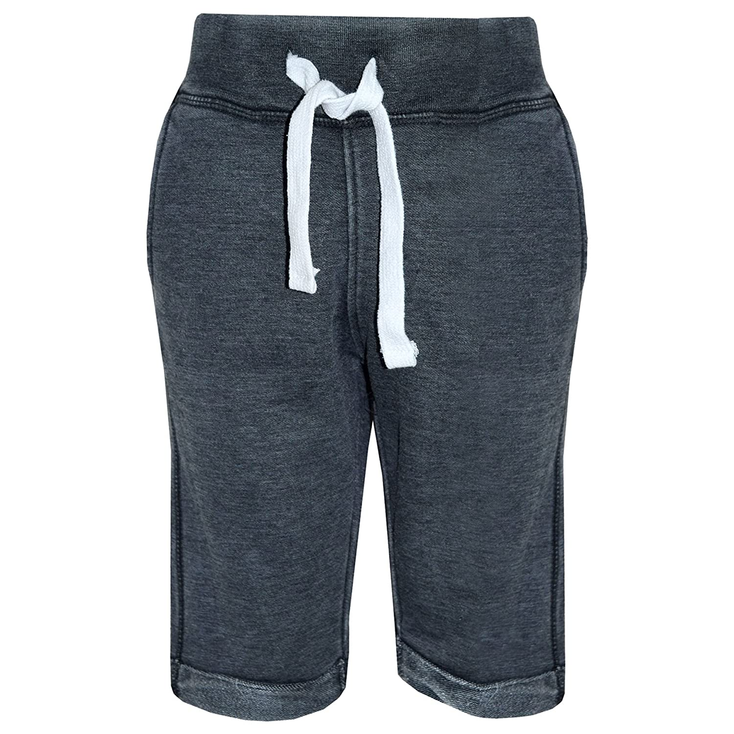 A2Z 4 Kids Boys Summer Shorts Kids Fleece Black Chino Shorts Knee Length Half Pant New Age 3 4 5 6 7 8 9 10 11 12 13 Years