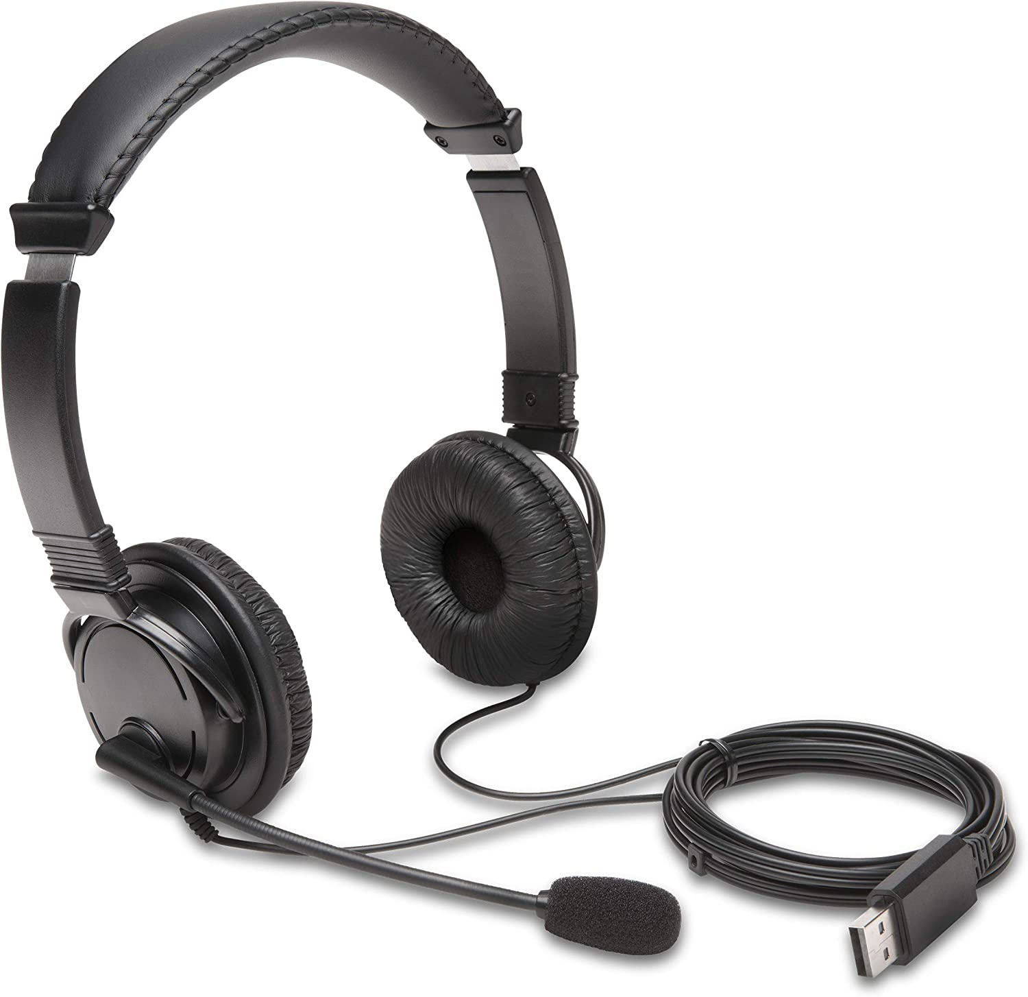 Kensington USB Hi-Fi Headphones  this one is he best headphones for the small heads if you head is small and no one headphones is not fit on your heads son this one is the best headphones for you