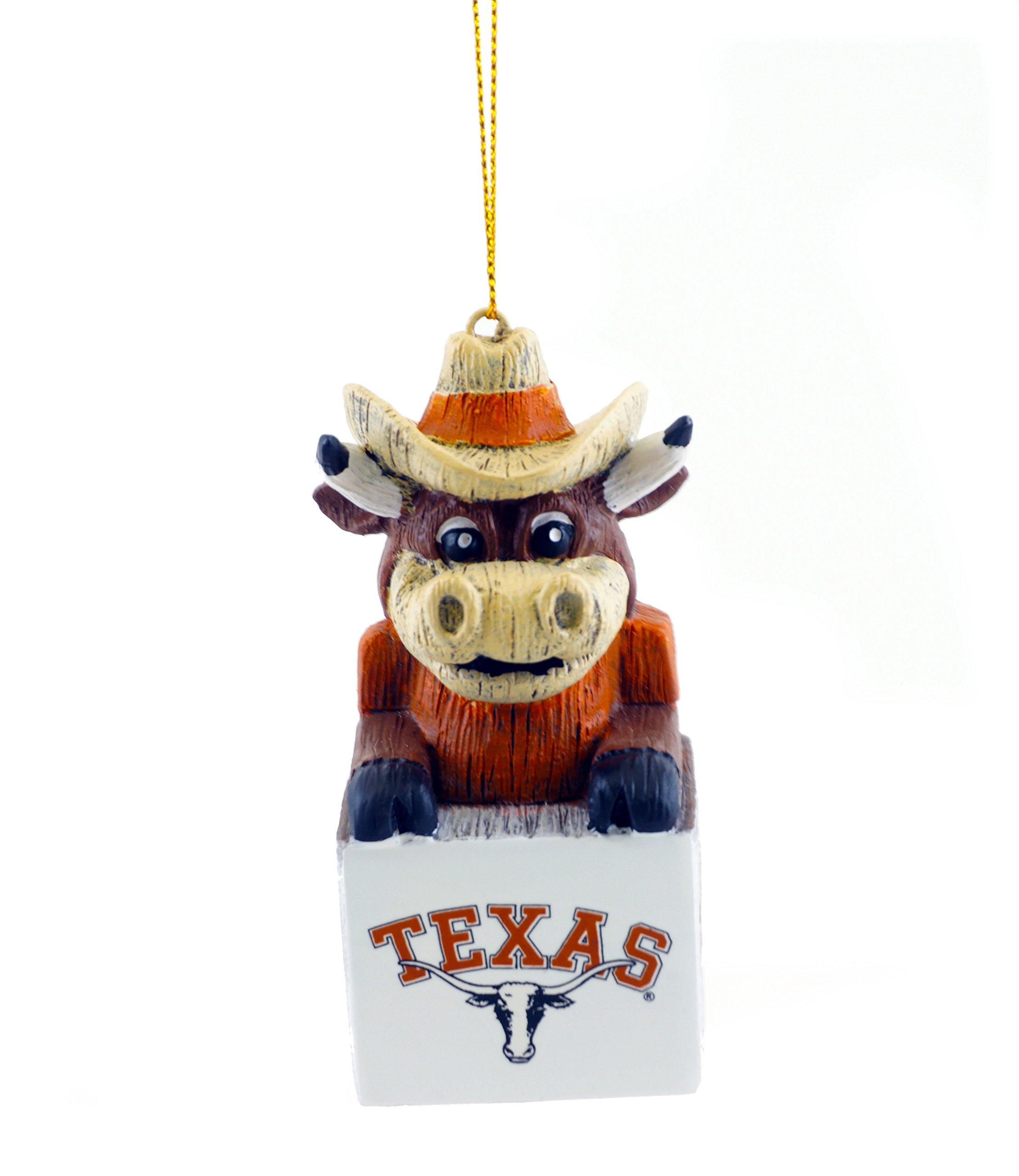 JWM Texas Longhorns Team Mascot Figurine Sports Ornament
