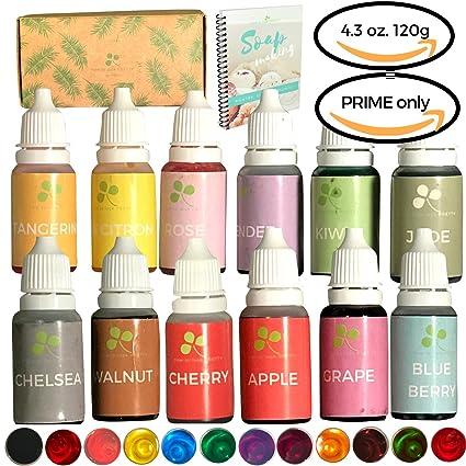 Amazon.com: Skin Safe Liquid Soap Dye - 120 grams 4.3ounce Food ...
