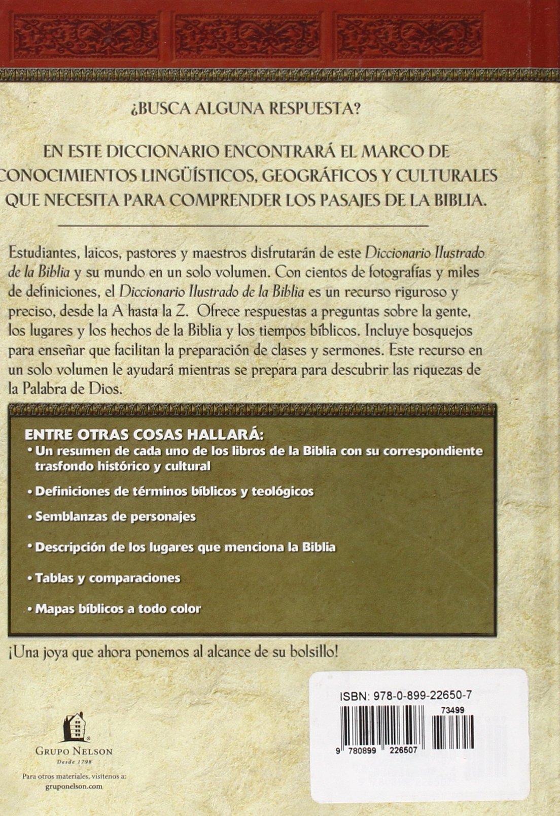 Diccionario Ilustrado De La Biblia: Thomas Nelson: 9780899226507 ...