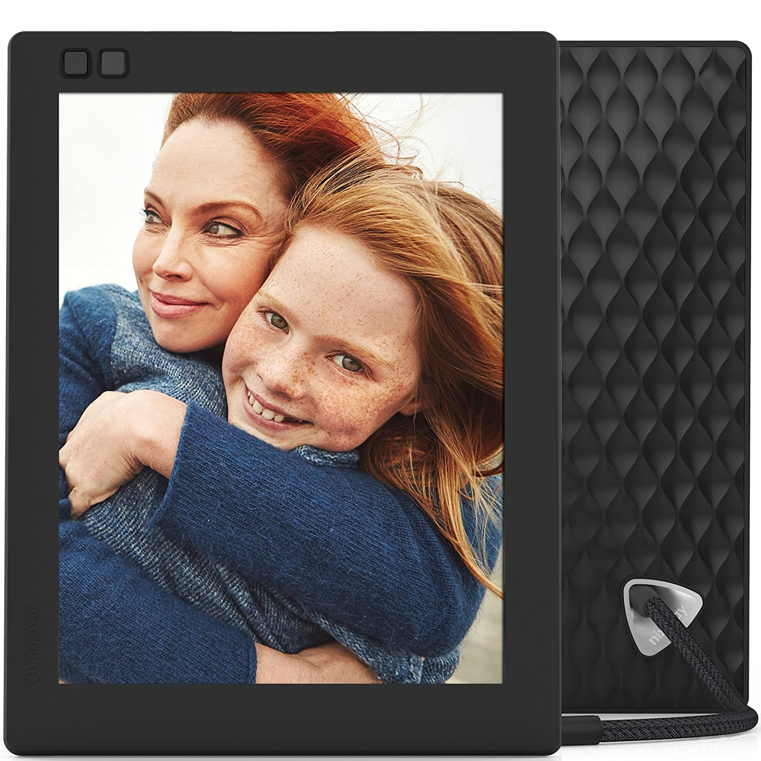 nixplay seed 8 inch wifi digital photo frame black