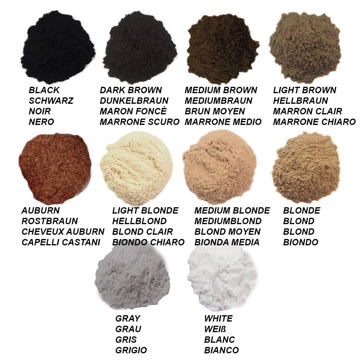 Charmate® HAIR FIBER PRO aufbauende Queratina pelo fibras Refill Pack 100 g: Amazon.es: Belleza