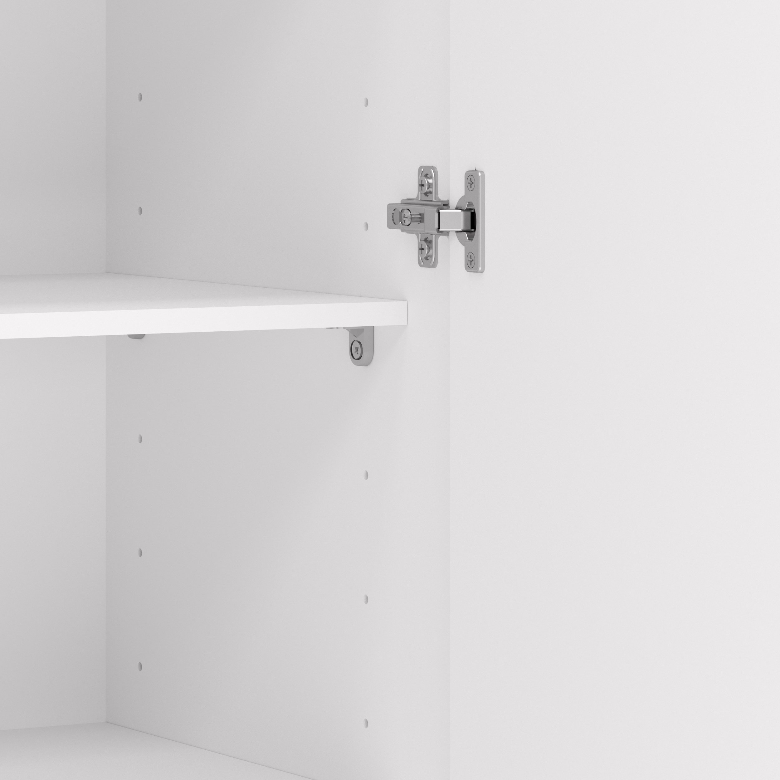 Tvilum 704174949 Space Wardrobe with with 2 Doors, White by Tvilum (Image #3)