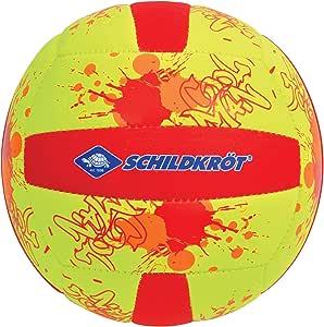 Schildkroet-Funsports Unisex's Neoprene Mini Beach Volleyball, Multi-Colour, Small
