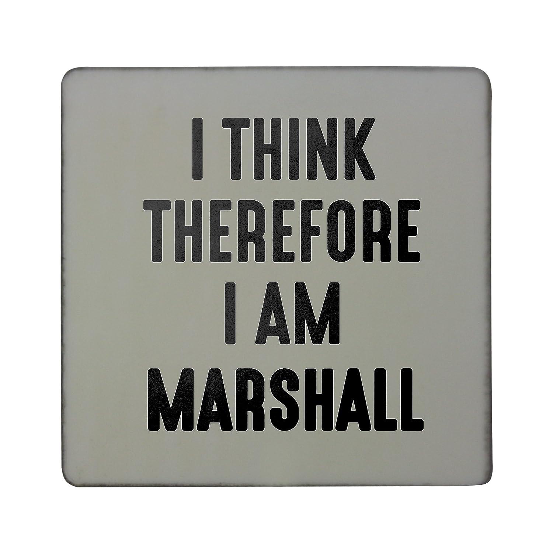 Creo que por lo tanto yo soy Marshall rígido cuadrado imán para ...