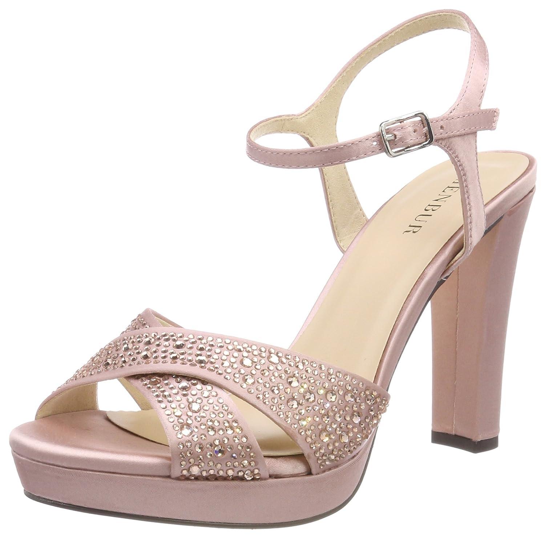Menbur Alberazzi, Sandales Bride Cheville B078H2YH4R Femme Rose Sandales (Make-up 19908 Pink 89) 3c0f36c - boatplans.space