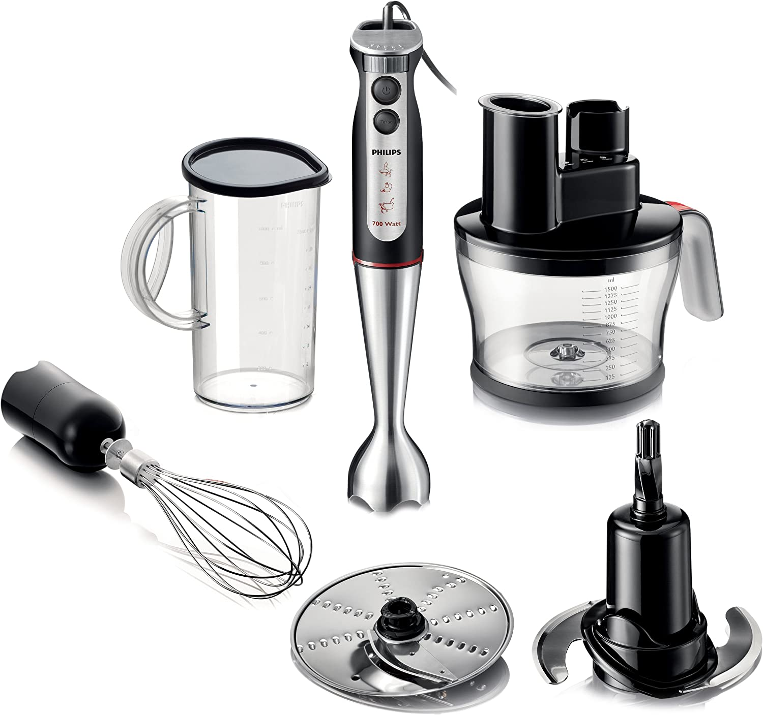 Philips Pure Essentials Collection Batidora de mano HR1377/90 ...
