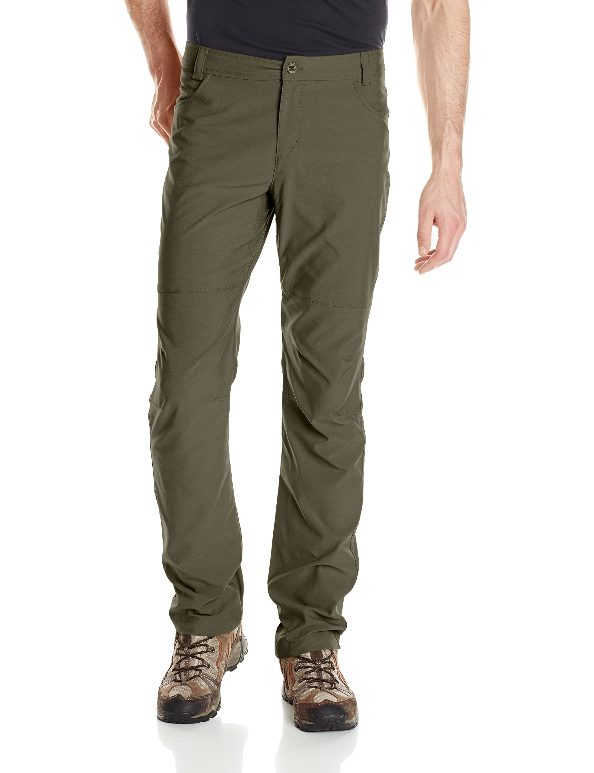 Columbia Men's Pilsner Peak Pants, 36'' x 32'', Gravel