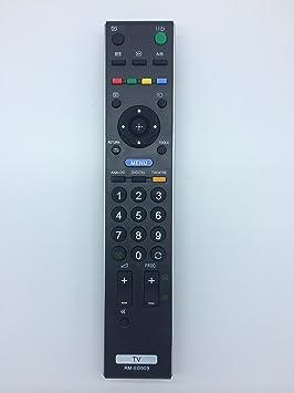 Nuevo televisor con mando a distancia de repuesto RM-ED009 para Sony KDF-50E2010 KDL-15G2000 KDL-20B4030 KDL-20B4050 KDL-20G2000 KDL-20G3000 KDL-20G3030 KDL-20S2000 KDL-20S2020 KDL-20S2030 KDL-20S2030UA: Amazon.es: Electrónica