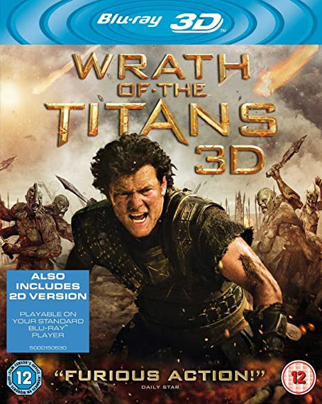 Wrath Of The Titans Edizione: Regno Unito Reino Unido Blu ...