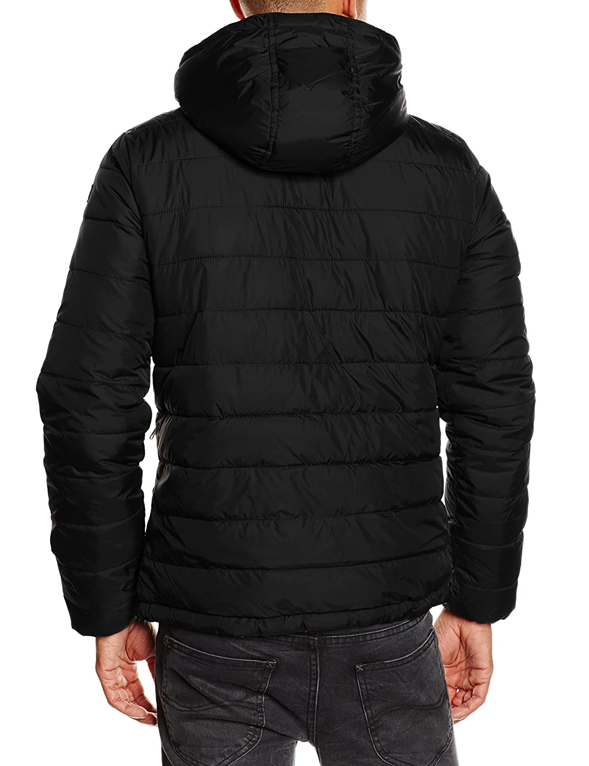 Schott NYC Mens Rocky 2 Quilted Hooded Long Sleeve Jacket ROCKY2