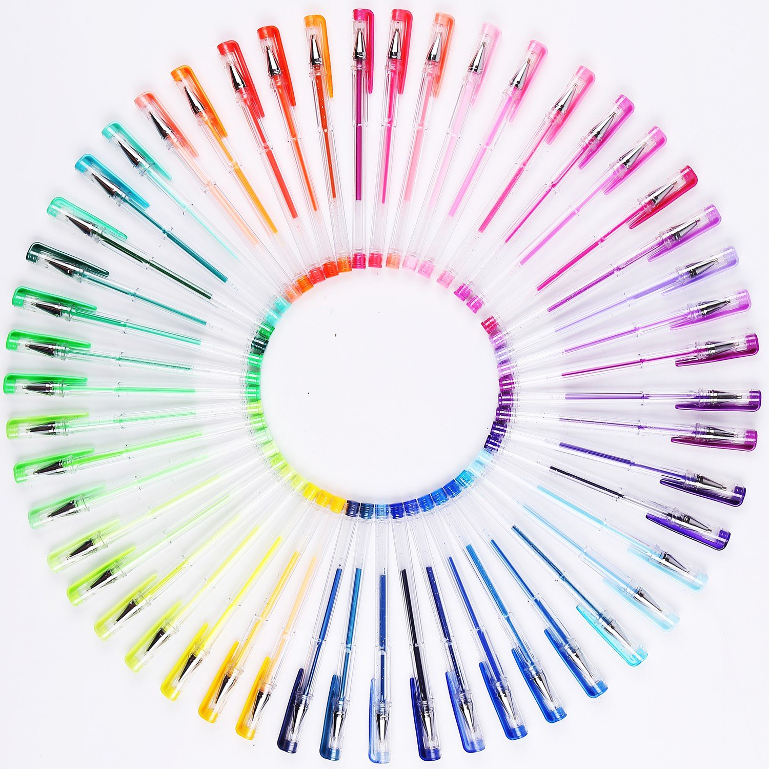 108 Unique Colors Gel Pens Set...