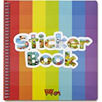Sticker Farm Original Series Large (10 x 10.5 in) Reusable Sticker Album for Collecting, Boys and Girls - Large Starter Activity Album with 75+ Puffy Stickers to Start Collection