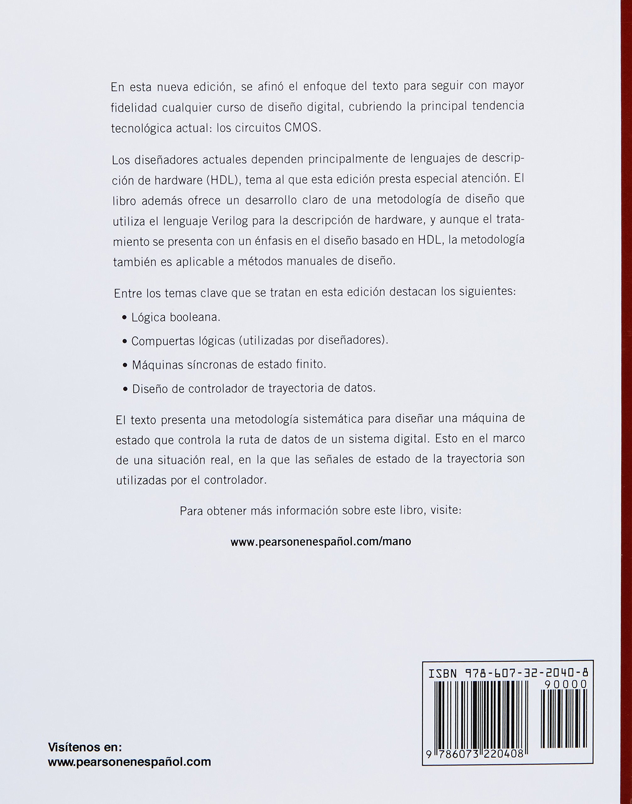 Diseño Digital: M. MORRIS MANO: 9786073220408: Amazon.com: Books