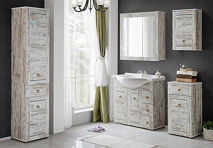 Mobili Da Bagno Shabby : Naka24 set di mobili da bagno provence 85 shabby chic bagno mobili