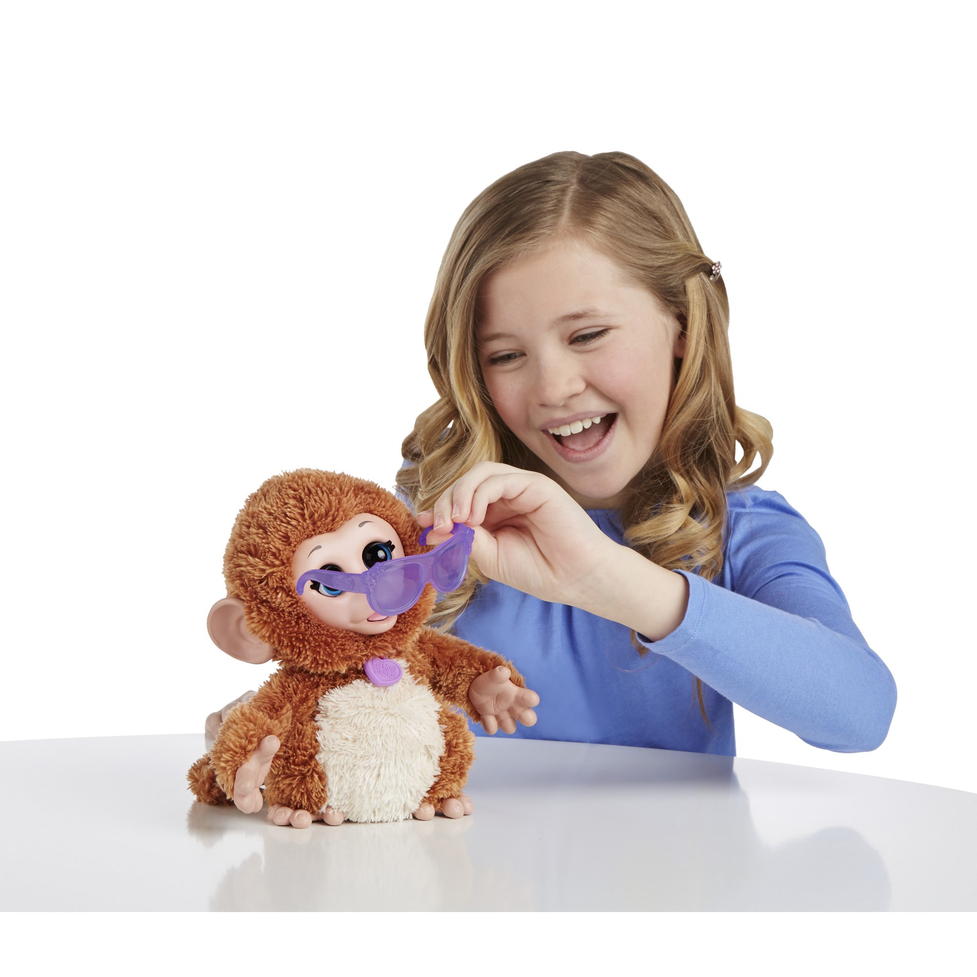 FurReal Friends Baby Cuddles My Giggly Monkey Pet Plush by FurReal (Image #4)