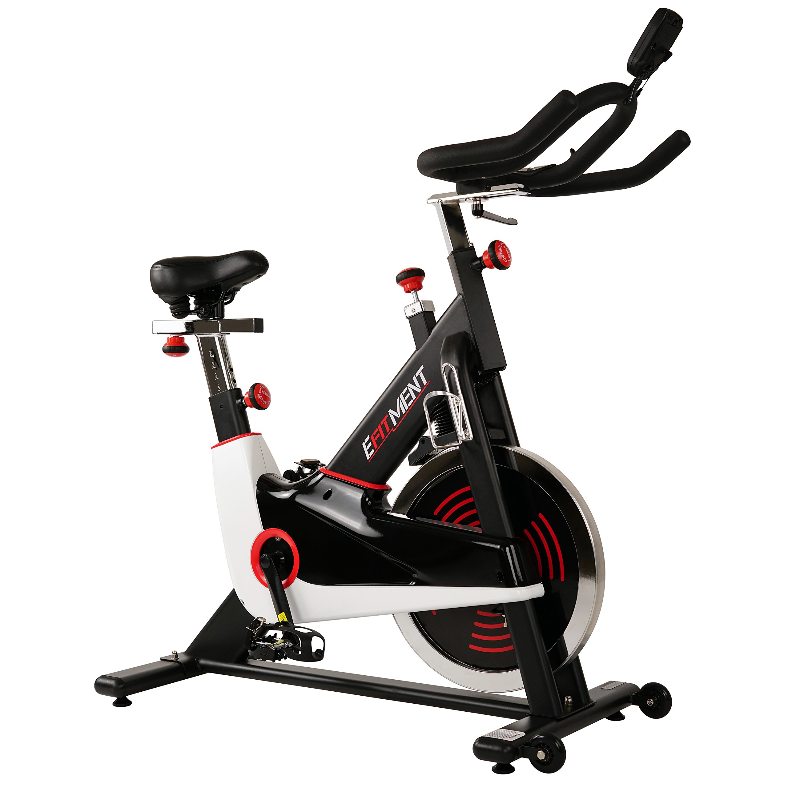 EFITMENT Indoor Cycle Bike, Magnetic Cycling Trainer Exercise Bike IC033