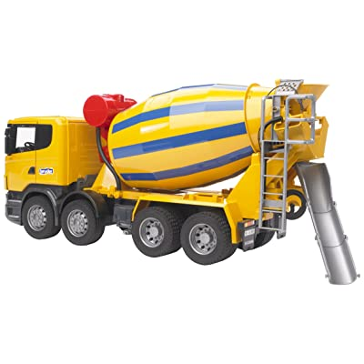 Bruder 03554 Scania R-Series Cement Mixer Truck: Toys & Games [5Bkhe0503857]