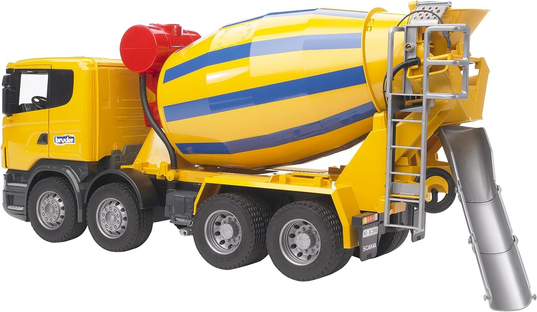 Bruder  - Camión scania hormigonera , color/modelo surtido