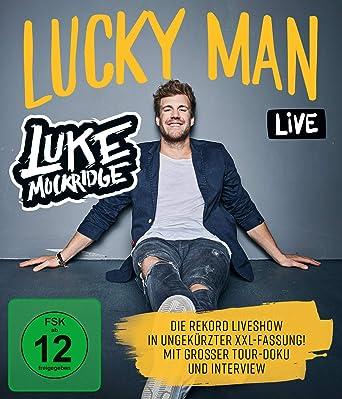 Luke Mockridge Lucky Man Blu Ray Amazon De Luke Mockridge Dvd