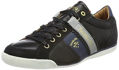 Pantofola d'Oro Savio Romagna Uomo Low, Sneakers Basses Homme - Noir - Schwarz (Black),